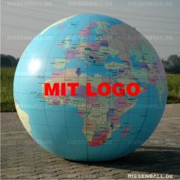 Deko Welt politisch mit Logo 200 Vinyl