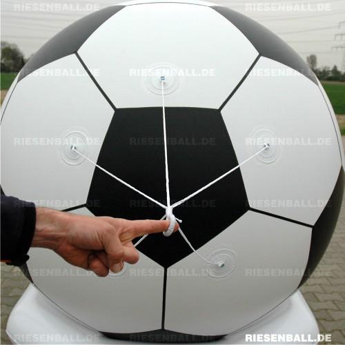 Deko Fussball Fix 150 Vinyl Dekoball Riesenball