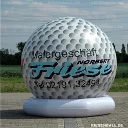 Heli Golfball mit Logo 200 Vinyl