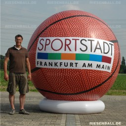 Deko Basketball mit Logo 300 Vinyl