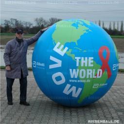 Event Welt glatt mit Logo 200 Textil