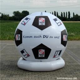 Event Fussball mit Logo 250 Textil