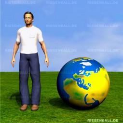 Spiel Welt topografisch Fix BLAU 100 APM