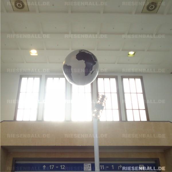 Messeballon im Einsatz auf der Innotrans 2014 in Berlin
