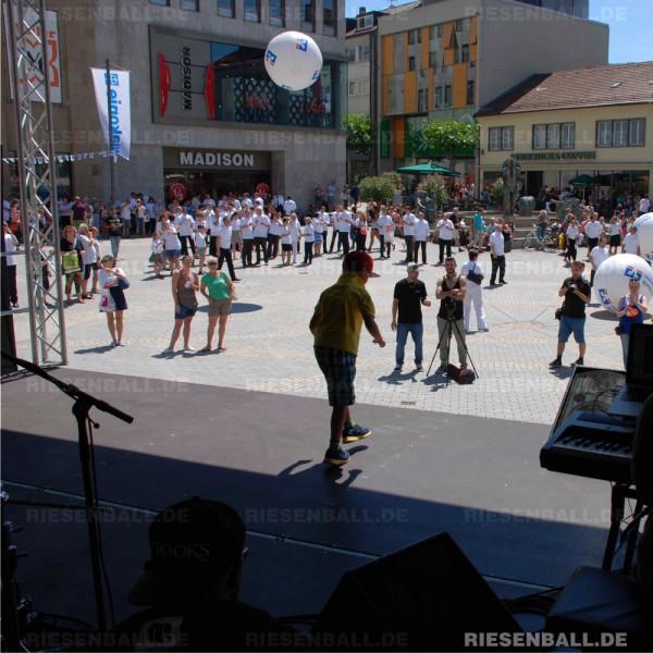 Volksbank Heilbronn nutzt Eventbälle für Aktionswoche