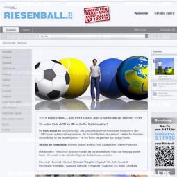 RIESENBALL.DE ist online!
