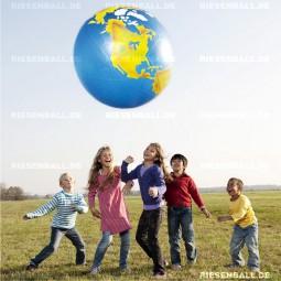 Aufblasbare Weltkugel 100 cm für Gruppenspiele!
